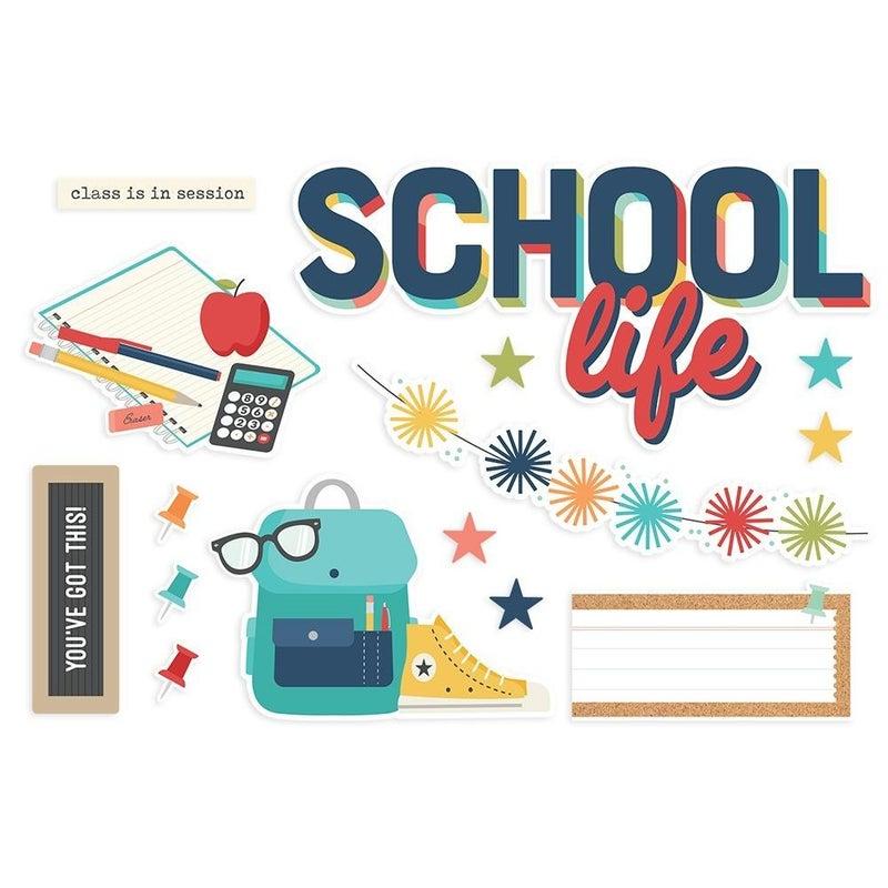 School Life Page Pieces