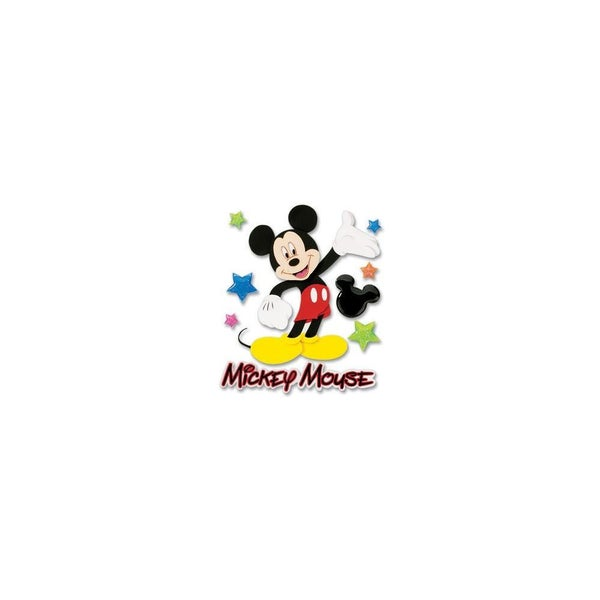 Mickey Walk 3D Sticker