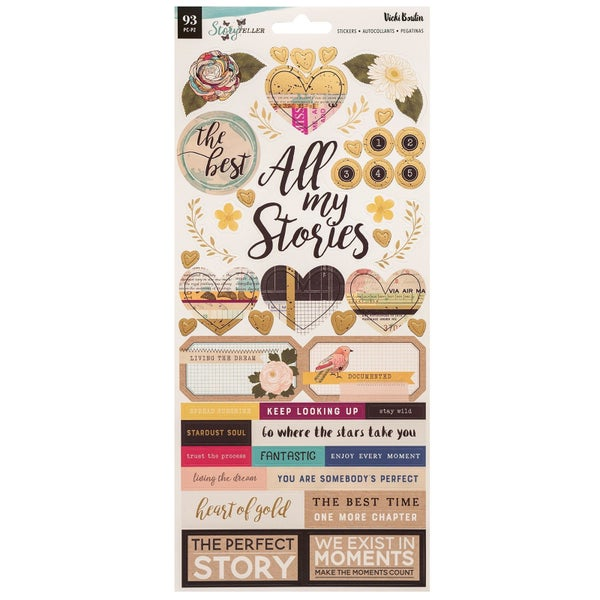 Vicki Boutin Storyteller Stickers