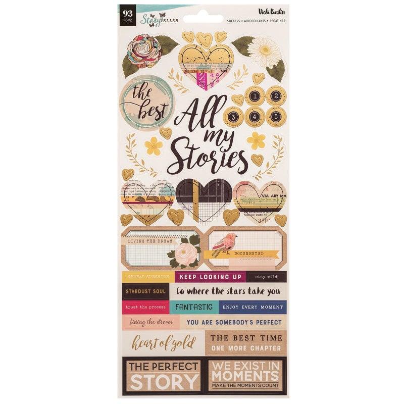 Vicki Boutin Storyteller Stickers