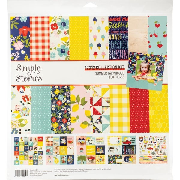 Simple Stories Summer Farmhouse Paper Pack