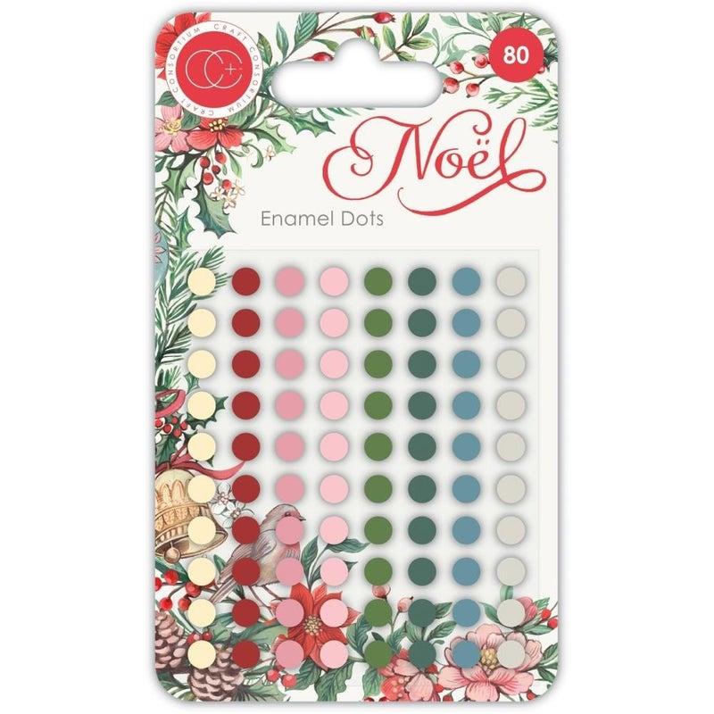 Noel Enamel Dots