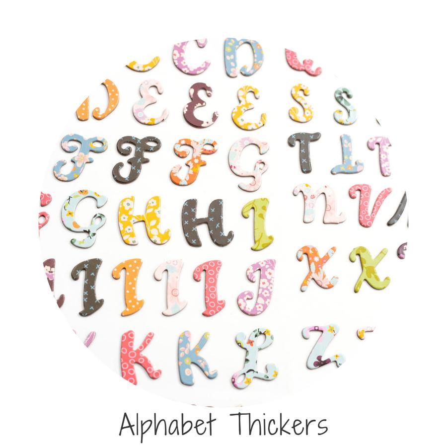 Alphabet Thickers