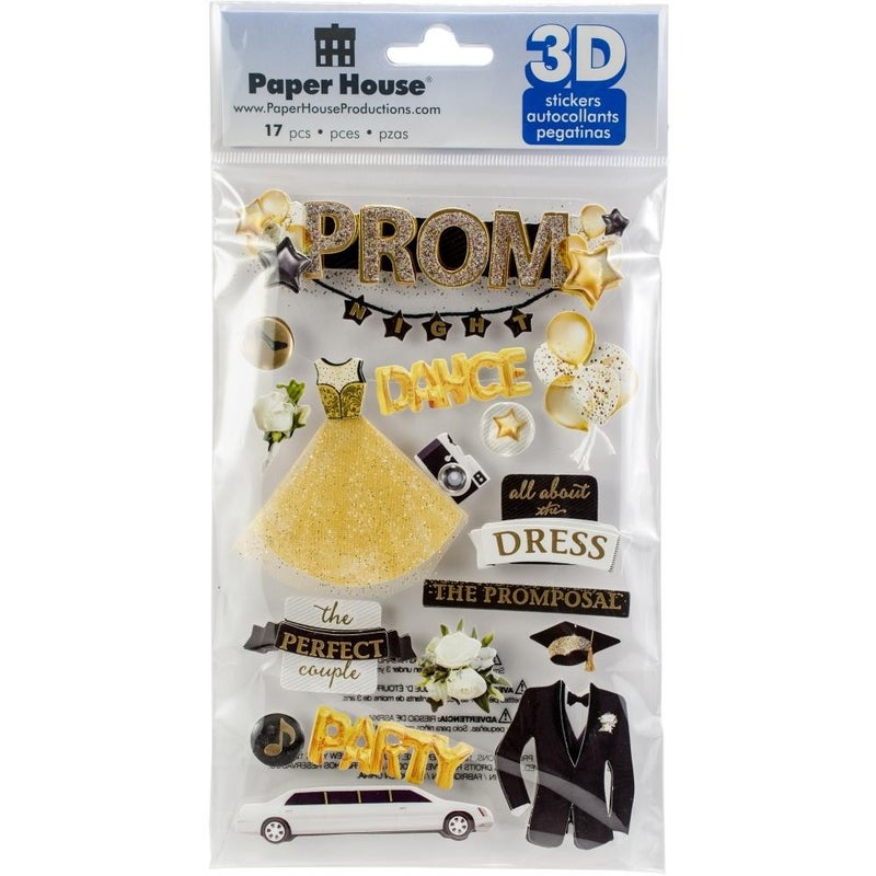 3D Prom Stickers