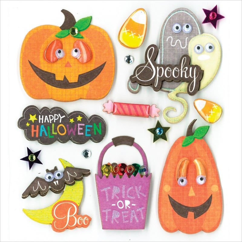 Spooky Halloween Stickers