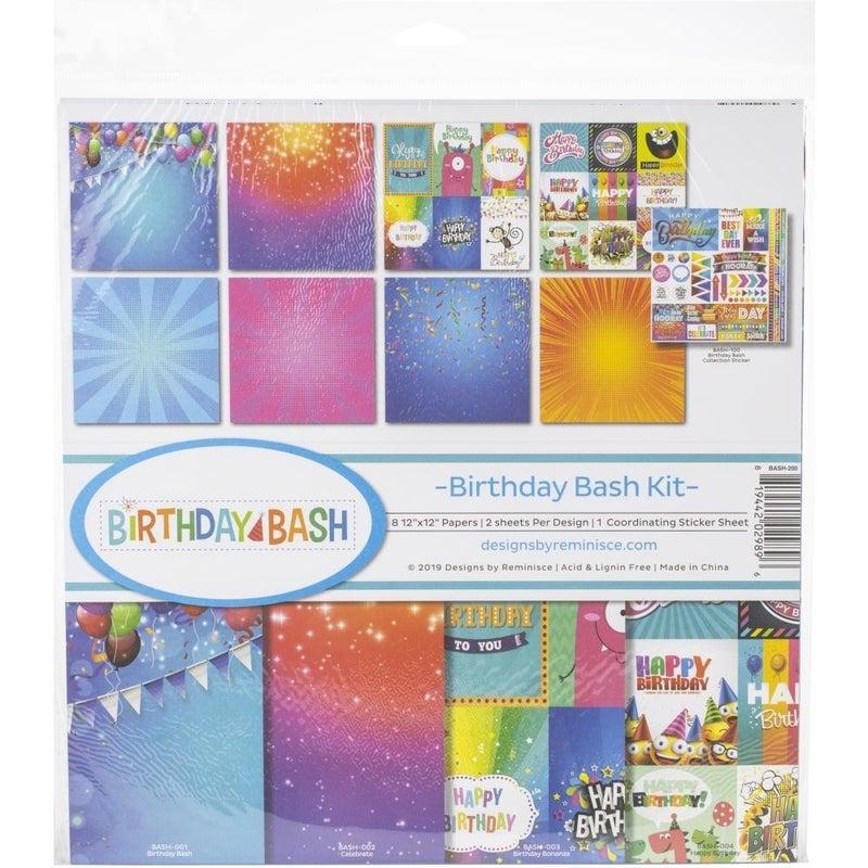 Reminisce Birthday Bash Paper Pack