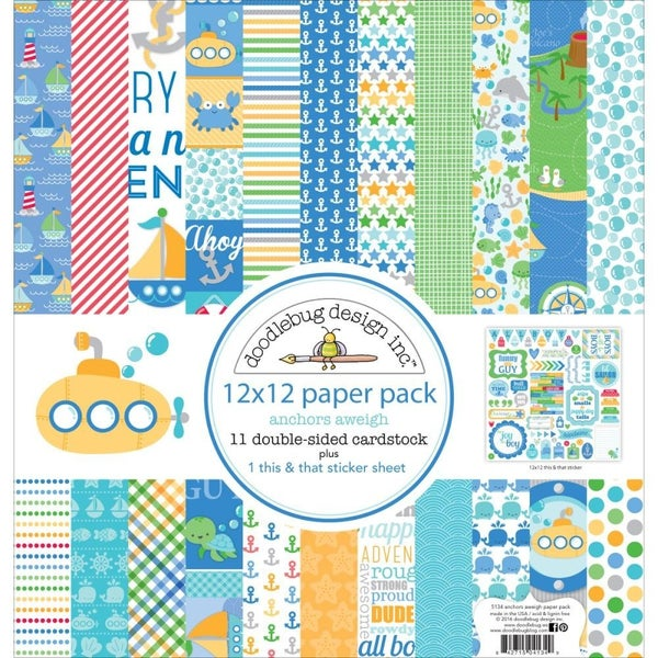 Anchors Aweigh Paper Pack