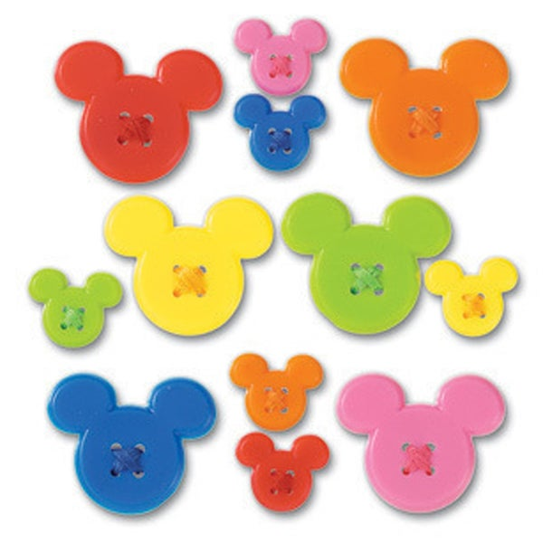 Disney Mickey Icon Buttons