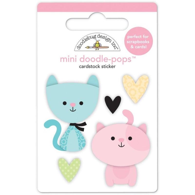 Bitty Kitties 3D Stickers