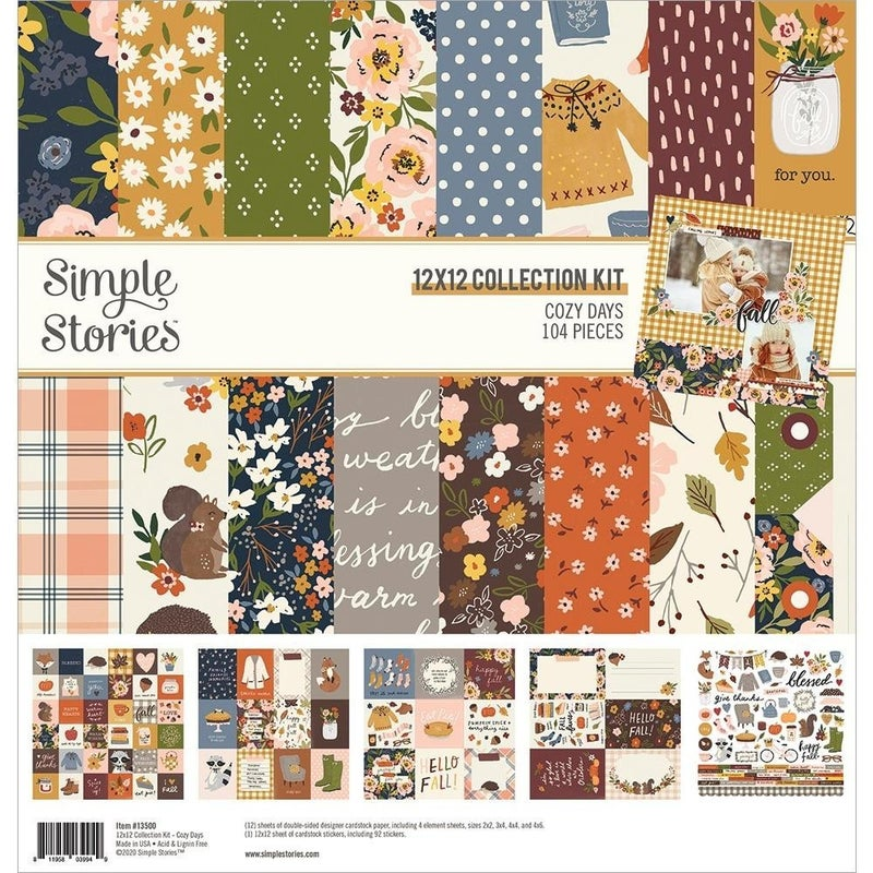 Cozy Days Paper Pack