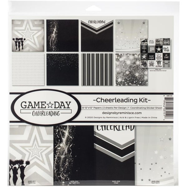 Cheerleading Paper Pack