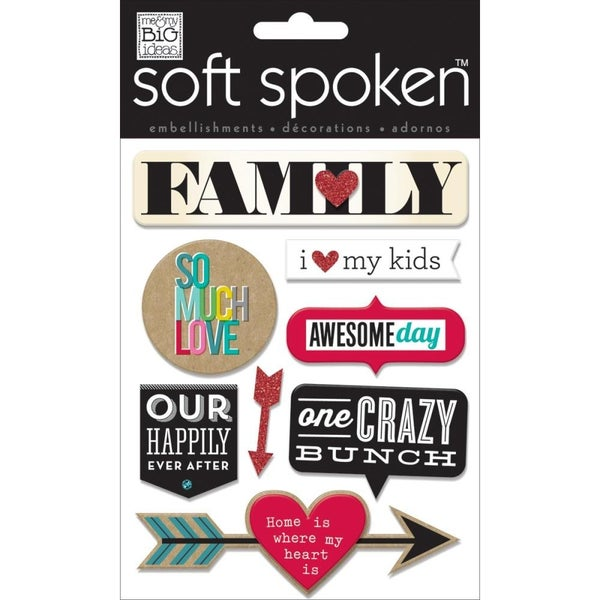 Family Love 3D Stickers