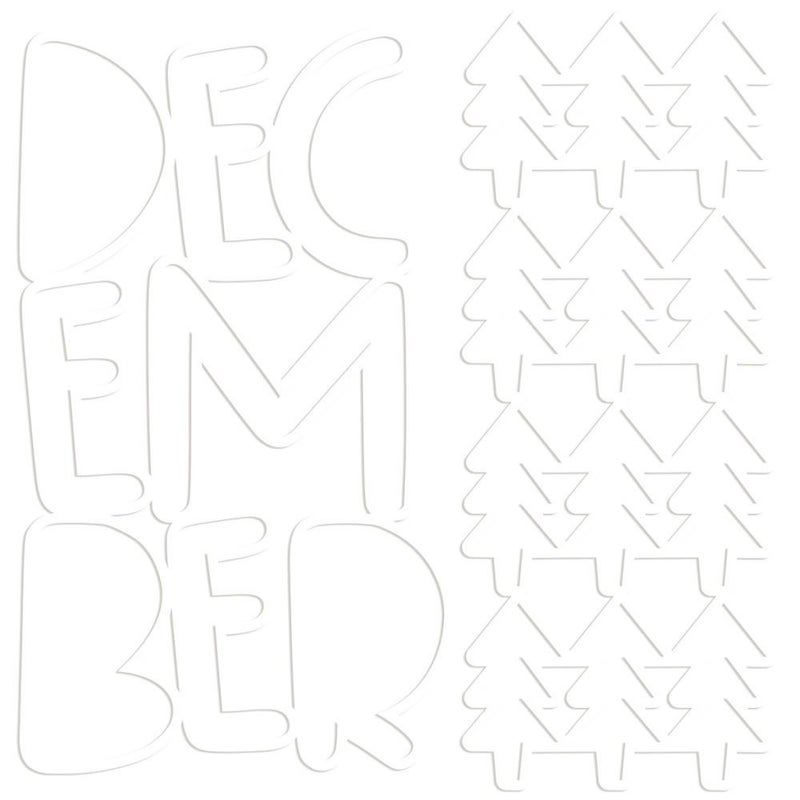 Bella Besti Cutouts - Falala December