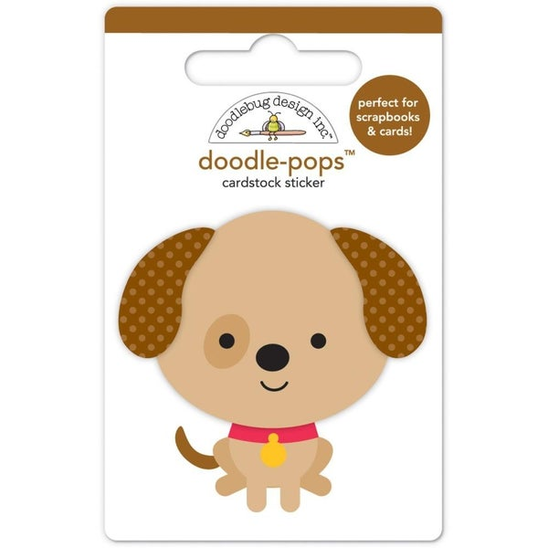 Sparky Puppy Love 3D Sticker