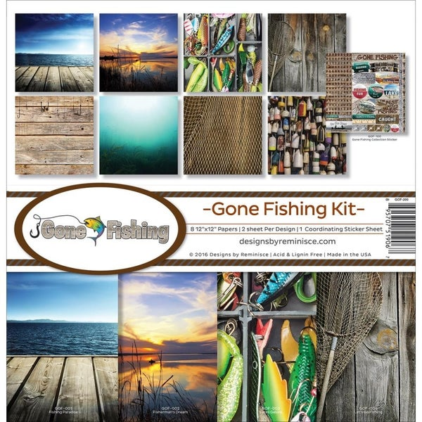 Gone Fishing Paper Pack
