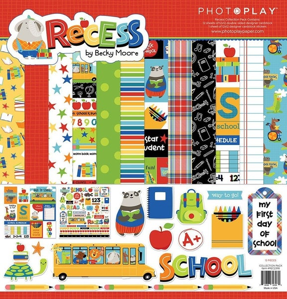 Recess Paper Pack