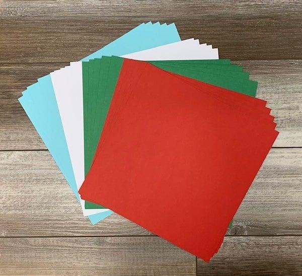 DML Santa's Workshop Cardstock Pack Qty 20