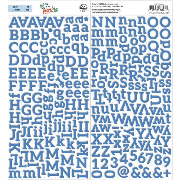 Oh What Fun Alphabet Stickers