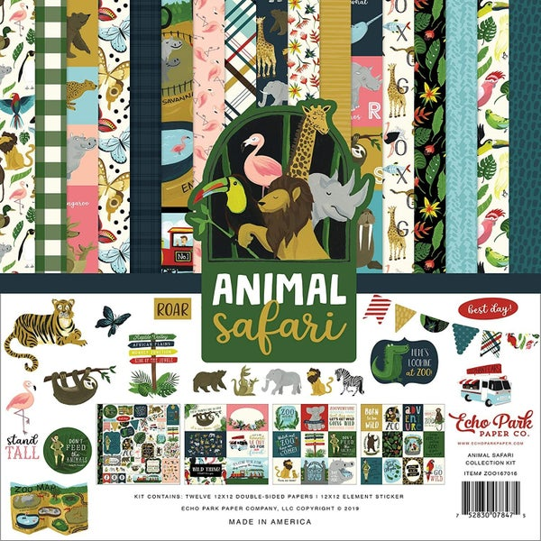 Animal Safari Collection Kit - Special