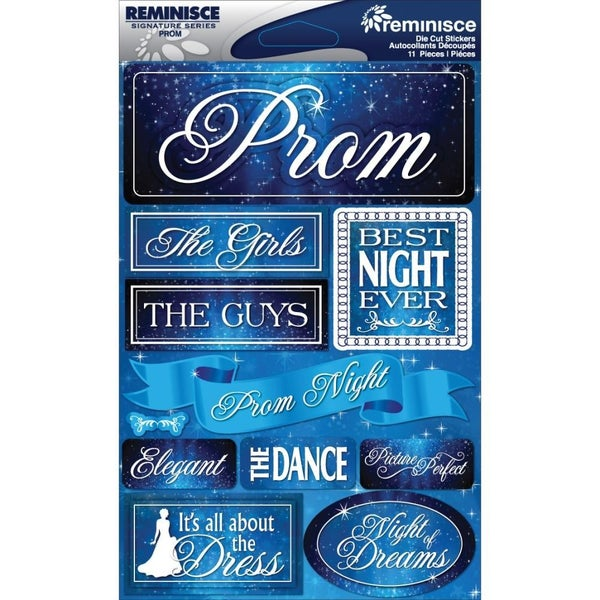 Prom 3D Stickers
