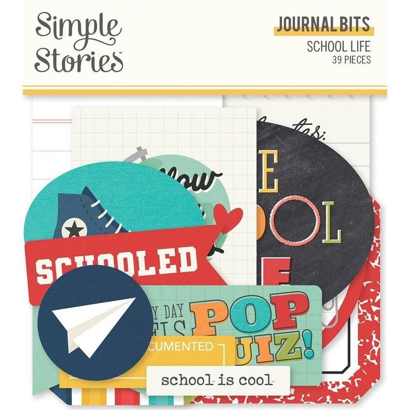 School Life Journal Pieces Die Cuts