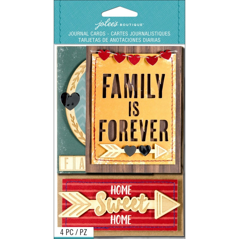 Family 3D Journal Cards