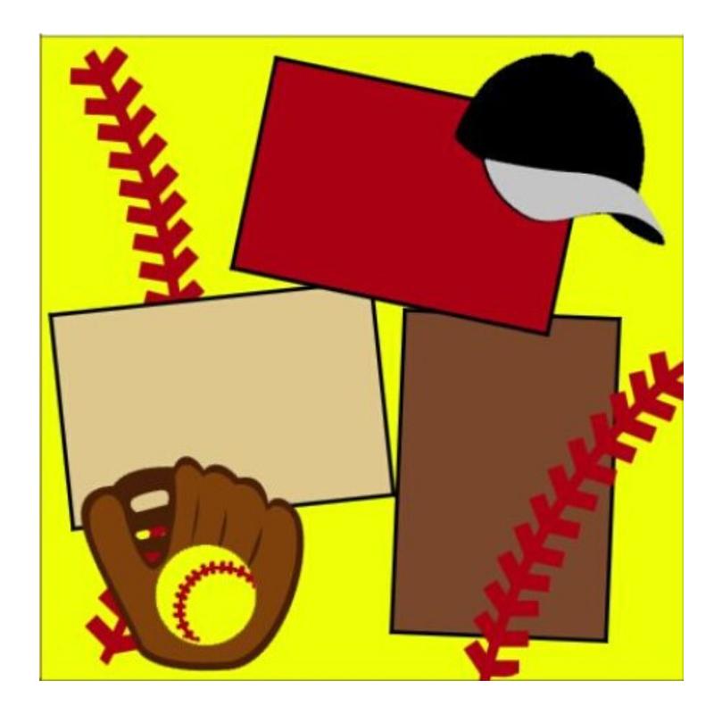 Softball Yellow kit
