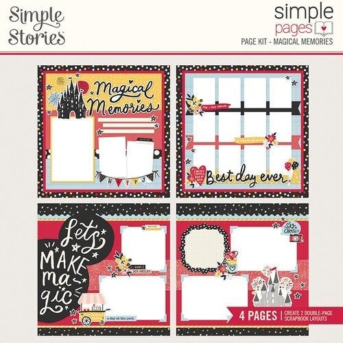 Magical Memories Disney Page Kit Pack