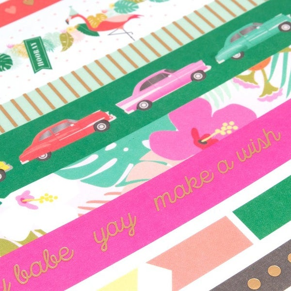 Birthday Washi Tape Book