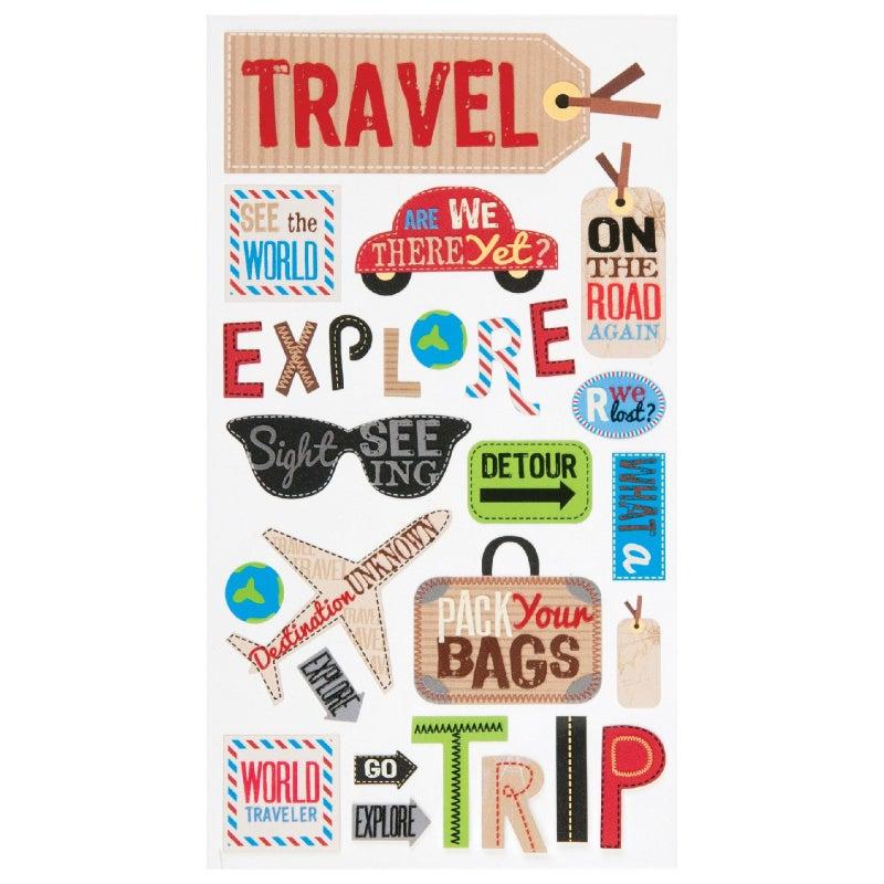 Happy Travelling Sticker