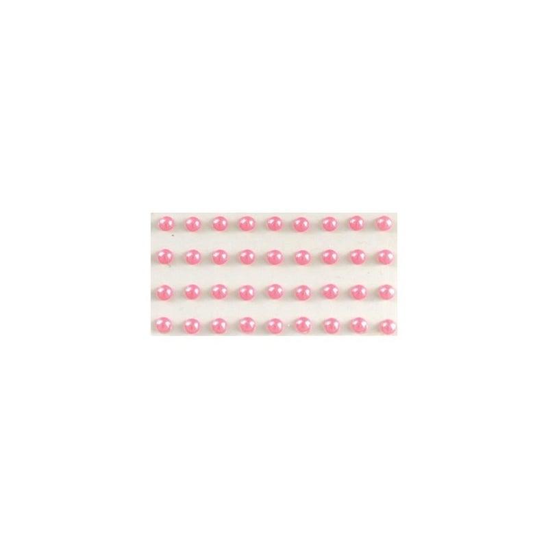 Adhesive Pearls 5mm - Pink