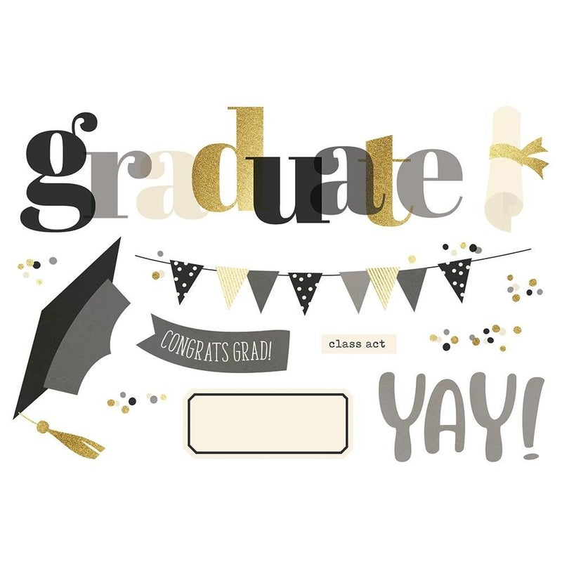 Graduation Page Pieces