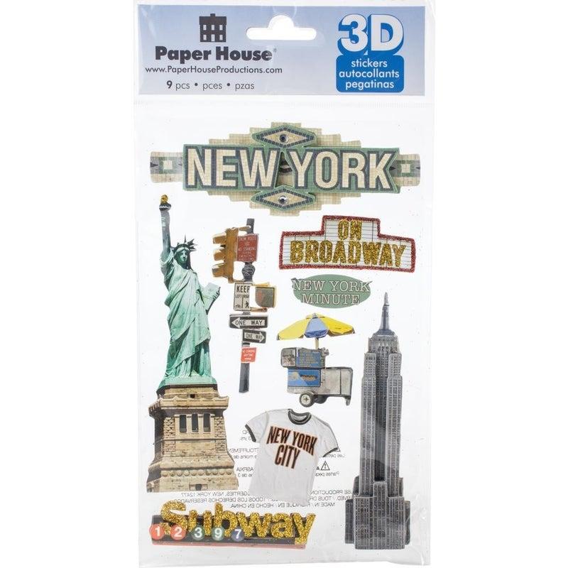 New York City 3D Stickers