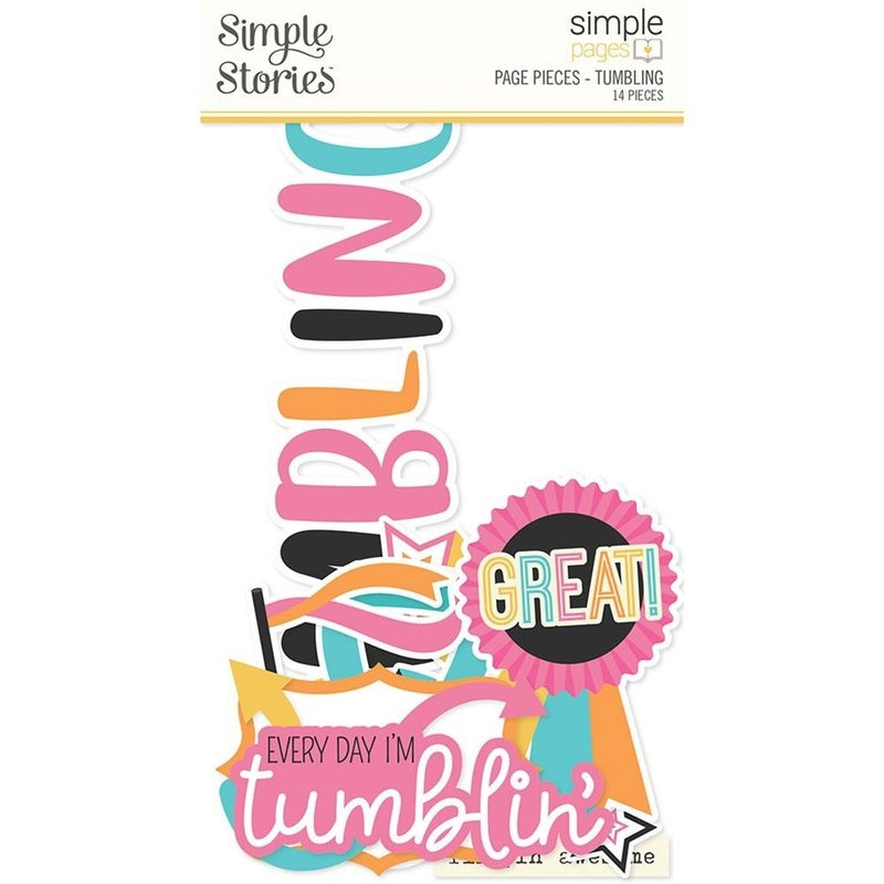 Tumbling Page Pieces