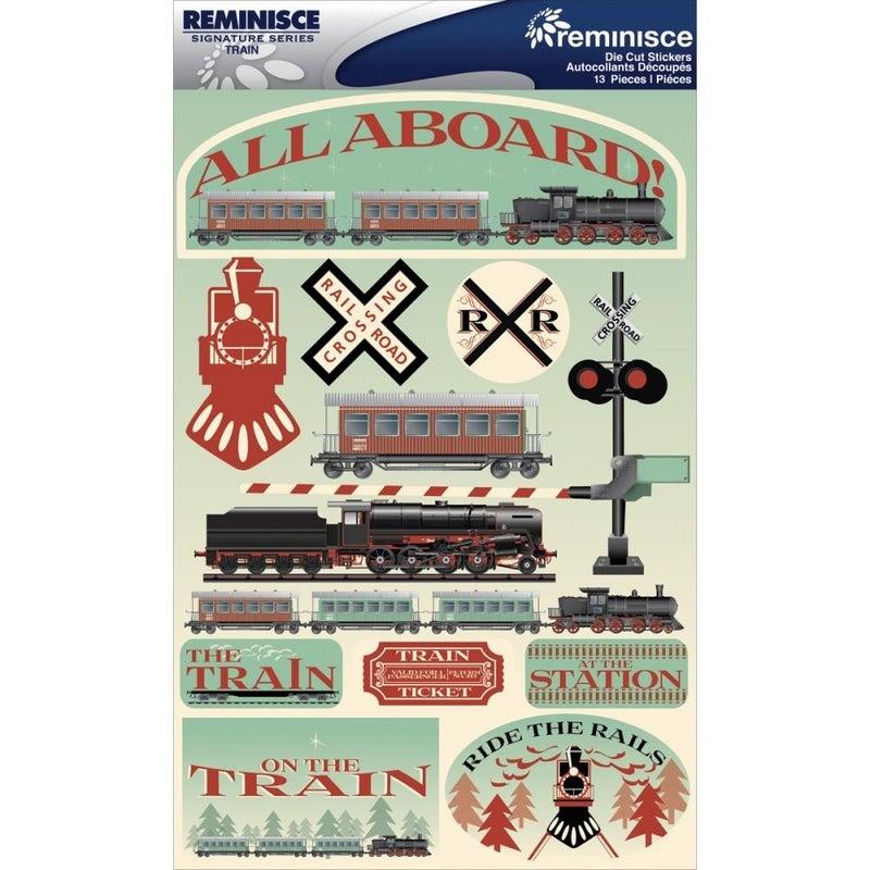 Train 3D Stickers