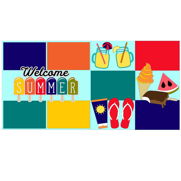 Welcome Summer Page Kit