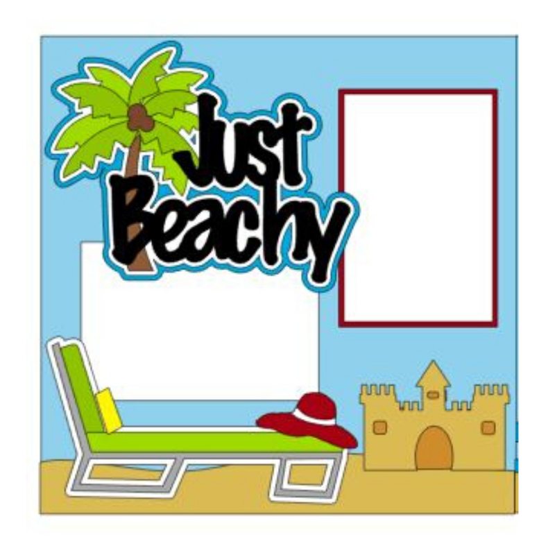 Just Beachy Page Kit