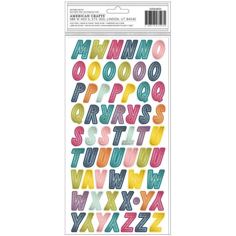 Wonder Alphabet Stickersw