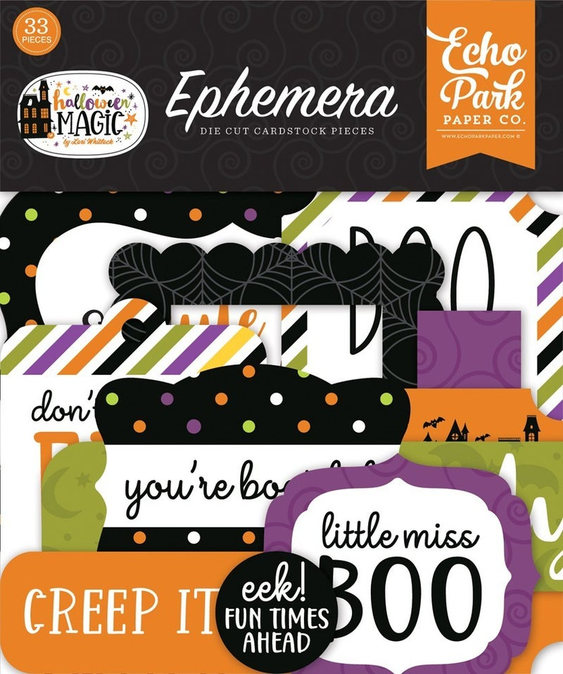 Halloween Magic Ephemera
