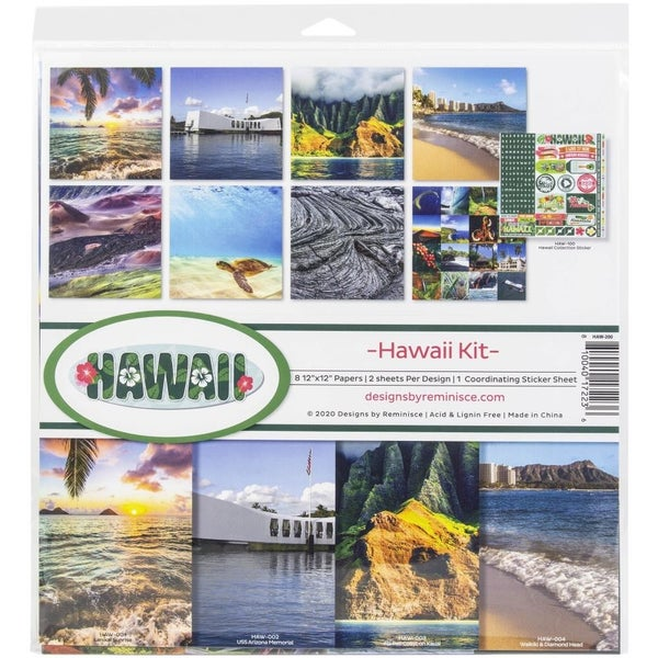 Hawaii Paper Pack