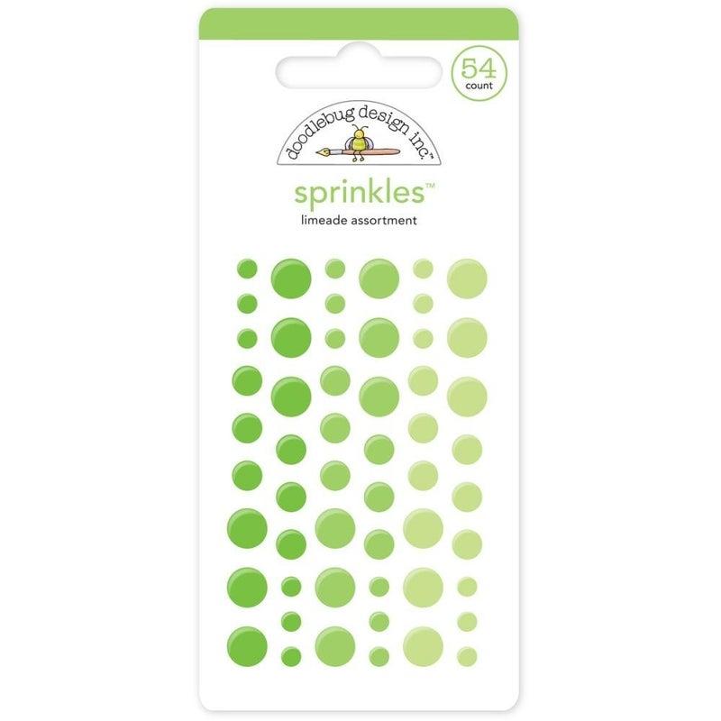 Doodlebug Sprinkles - Limeade Green