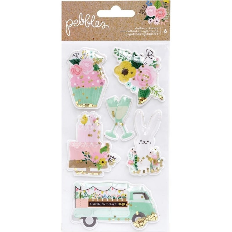 Lovely Moments Shaker Stickers