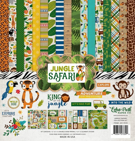 Jungle Safari Collection Kit