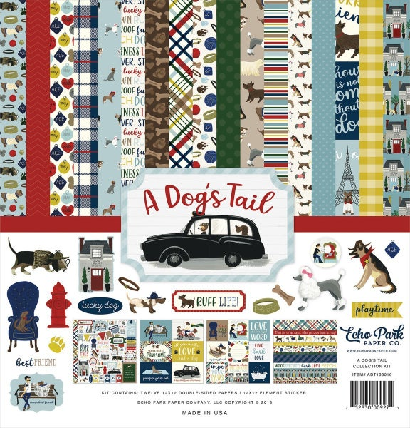 A Dog's Tail Paper Pack