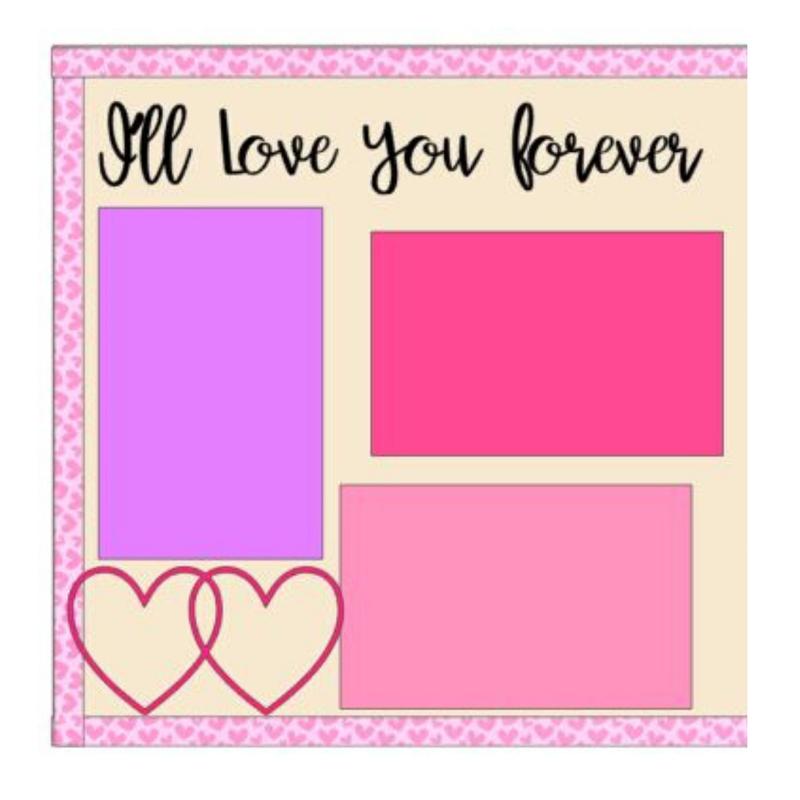 I'll Love You Forever Girl kit