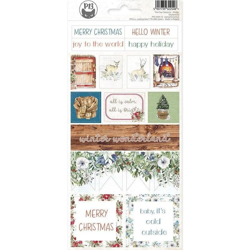 4 Seasons Winter Variety Stickers