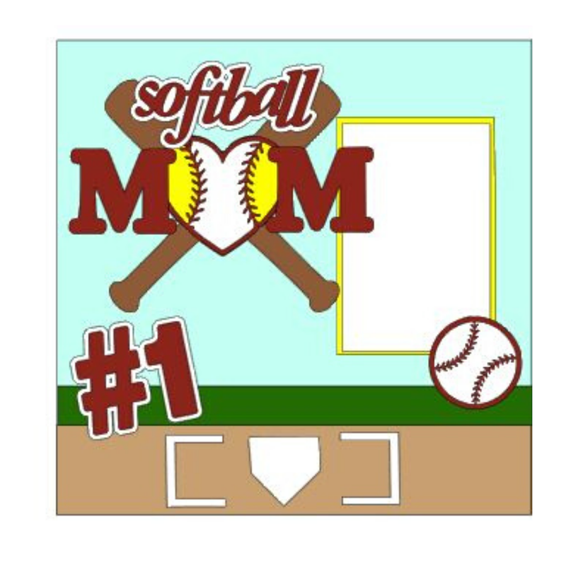 Softball Mom kit