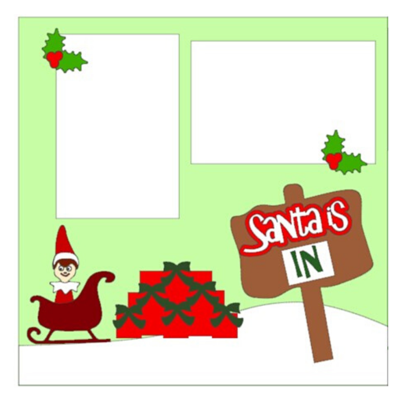 Santa is In kit