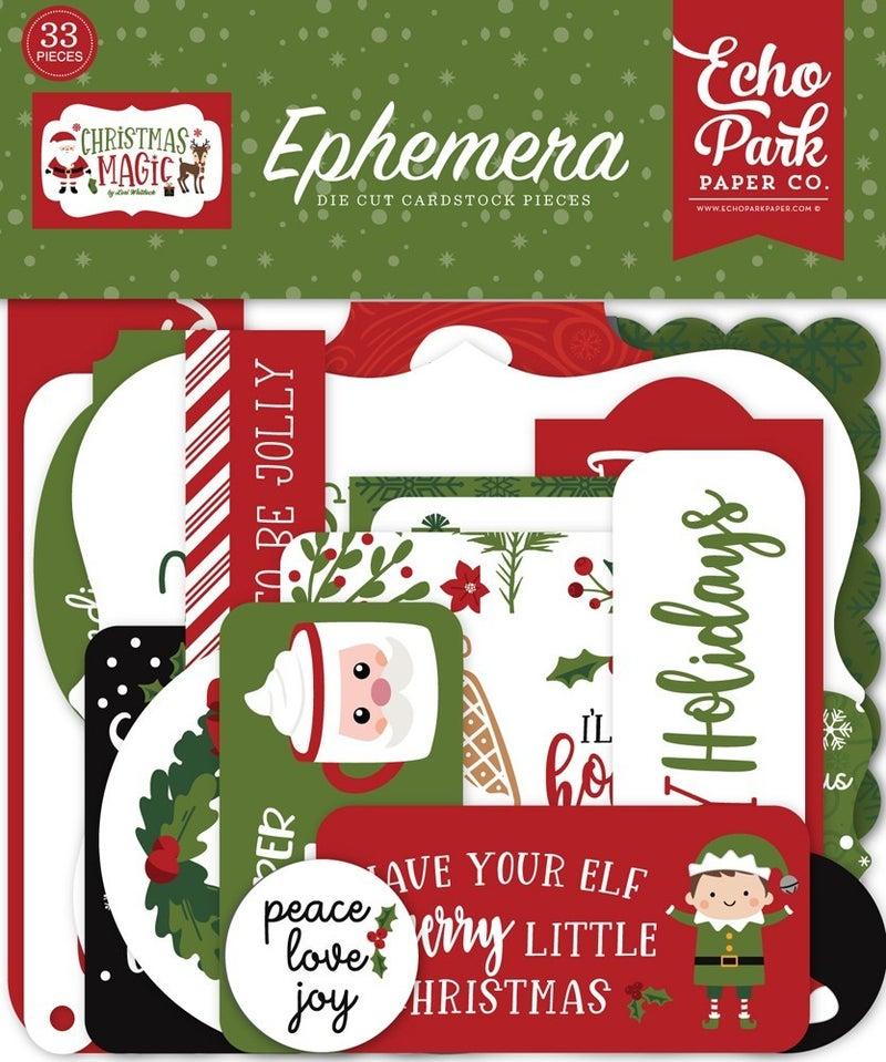 Christmas Magic Ephemera