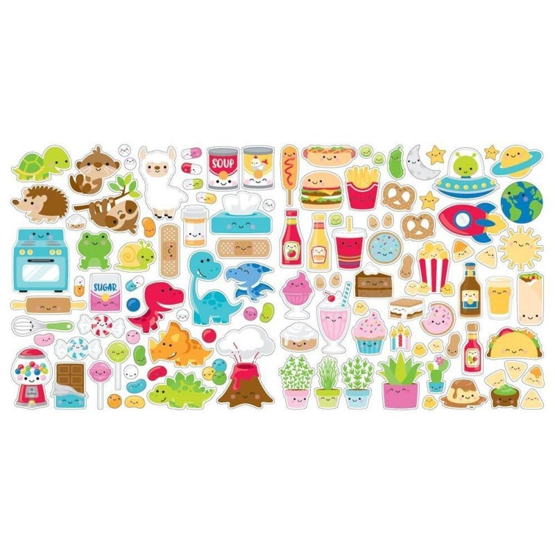 So Much Pun Odds & Ends Die Cuts - 113 pcs